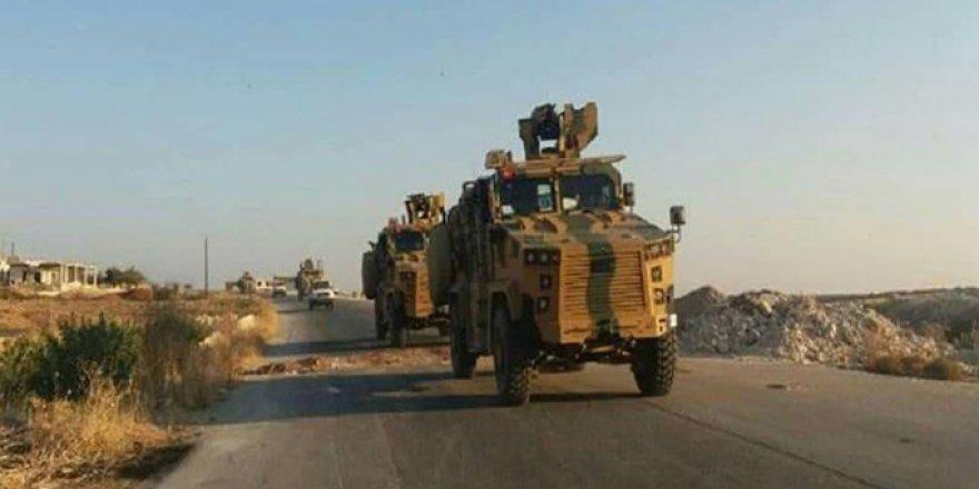 Türkiye'den Hama'ya zırhlı kuvvet takviyesi