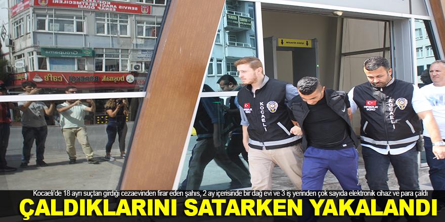 Kocaeli'de dehşet: Çaldıklarını satarken yakalandı