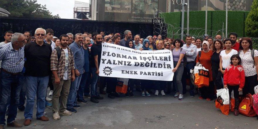 Flormar işçilerine EMEP'ten destek