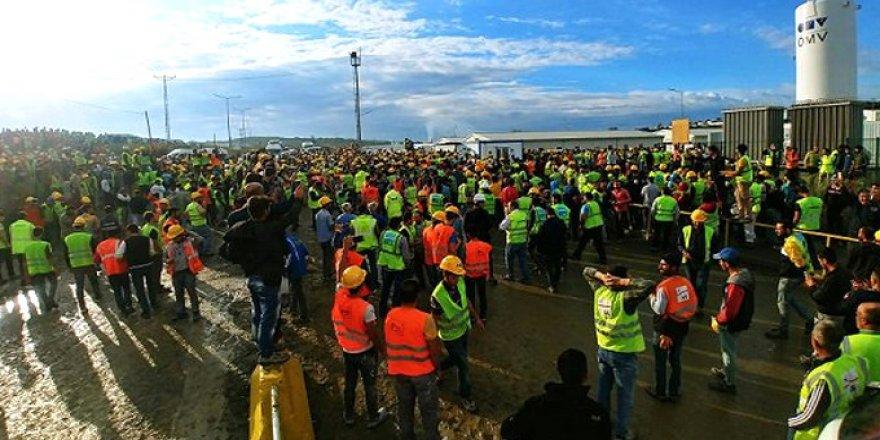 İşçiler, Yaptıkları Eylem Sonrası Taleplerini Kabul Ettirdi