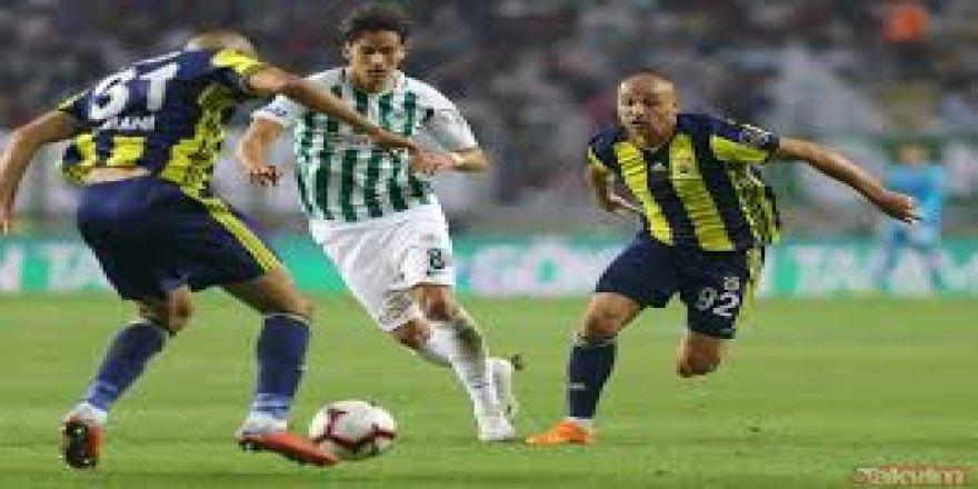 Spor Toto Süper Lig: Atiker Konyaspor: 0 - Fenerbahçe: 1 (Maç sonucu)