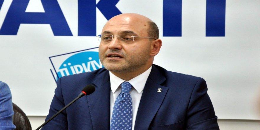 AK Parti il başkanının iş yerine silahlı saldırı