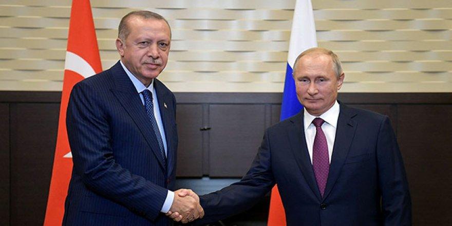 Erdoğan-Putin Zirvesi'nde mutabakat sağlandı