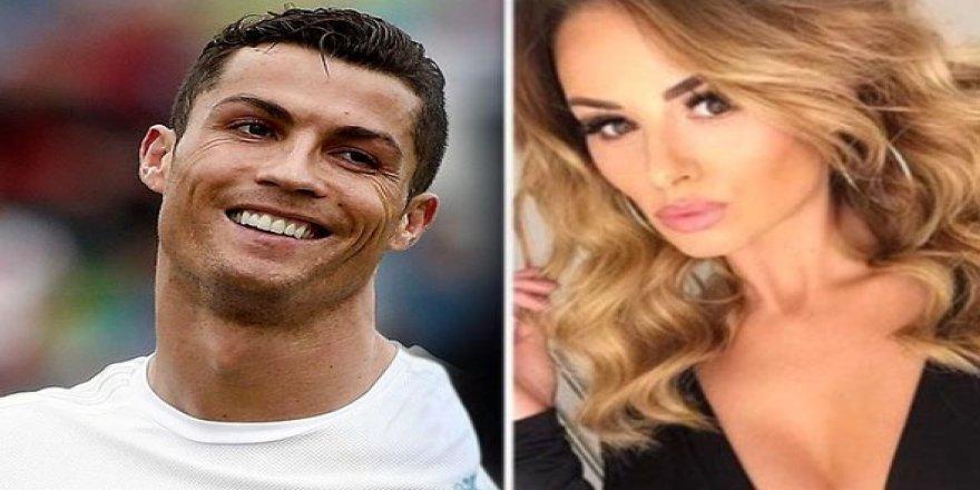 Ronaldo'nun eski aşkı evlendi