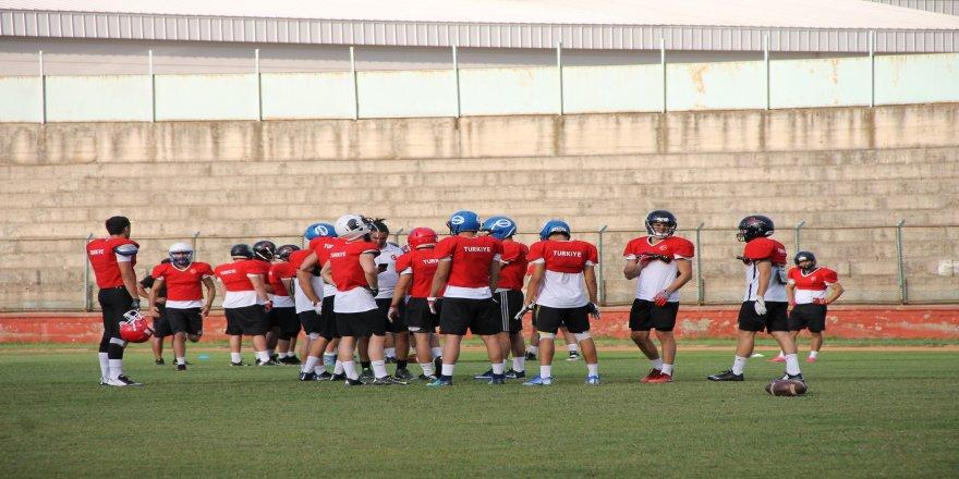 Korumalı Futbol Milli Takımı kampa girdi
