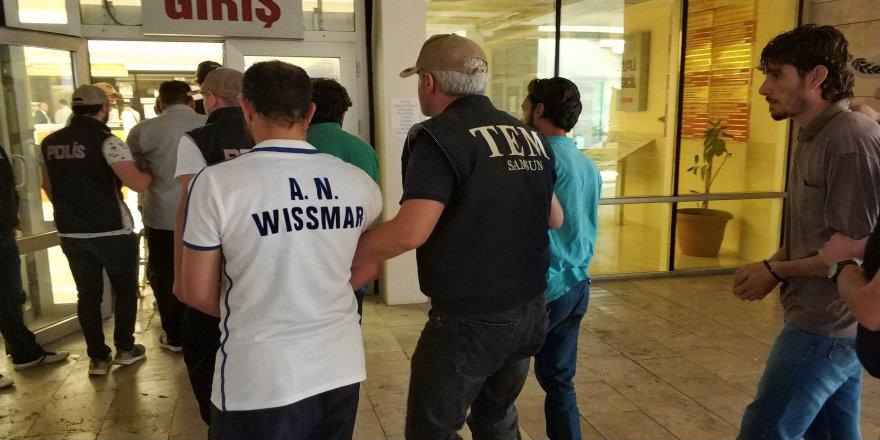 Samsun'da DEAŞ'tan 6 Iraklı tutuklandı