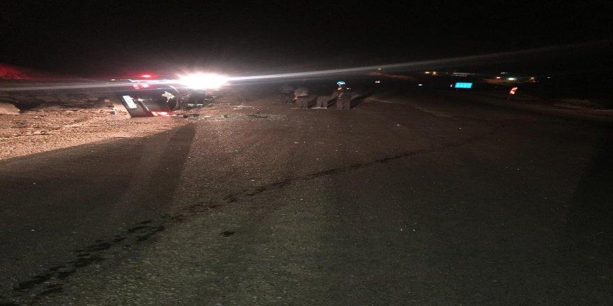 Otomobil devrildi: 1 ölü, 3 yaralı