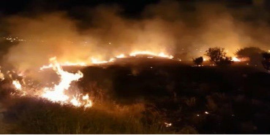 Korkutan yangın kontrol altına alındı