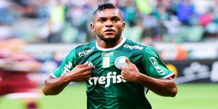 Negredo'nun yerine Palmeiras'tan Borja!