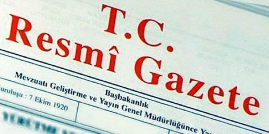 Büyükelçi atamaları Resmi Gazete'de