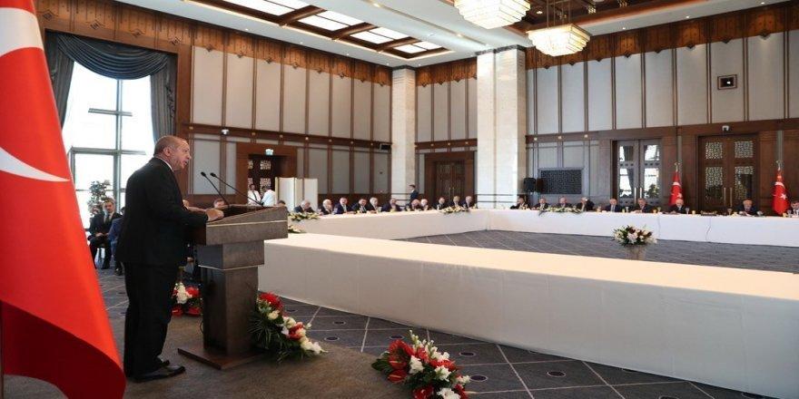 Başkan Karaosmanoğlu, Cumhurbaşkanı Erdoğan'a konuk oldu