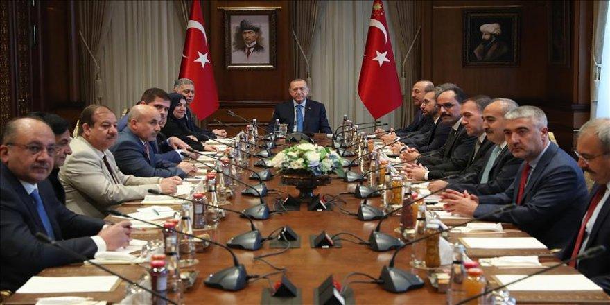 Erdoğan Türkmen milletvekillerini kabul etti