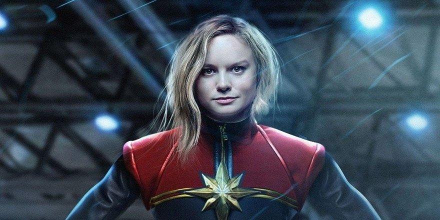 Brie Larson'lı Captain Marvel'den ilk fragman yayınlandı