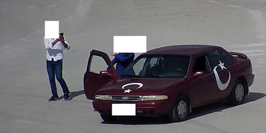 'Kiki challenge' yapan sürücüye ceza