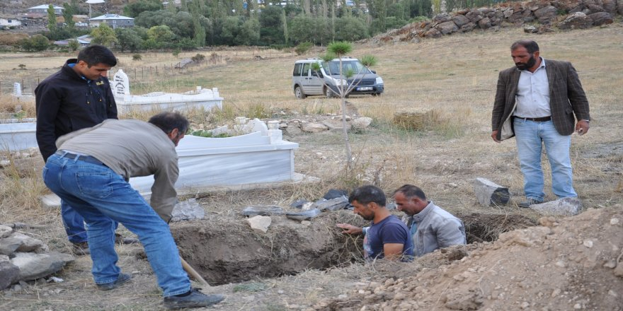 Sedanur'un mezarı kazıldı