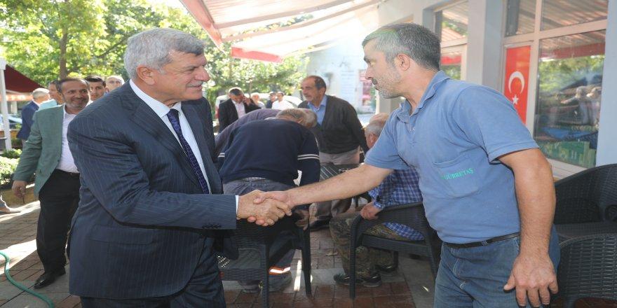 Başkan Karaosmanoğlu Dilovası'nda