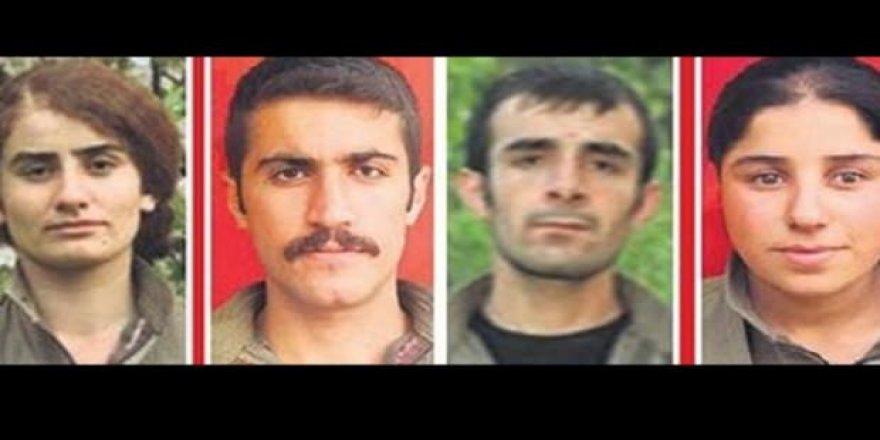 Öldürülen 5 teröristin kim oldukları ortaya çıktı!