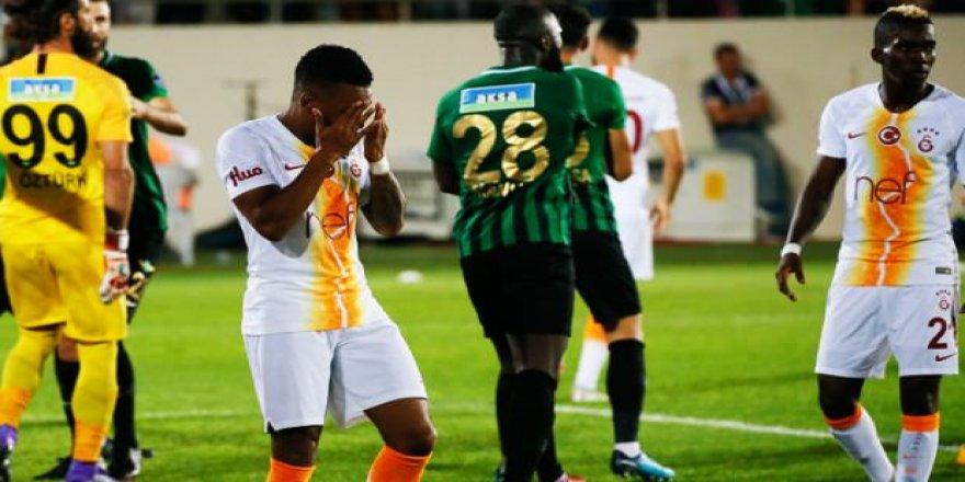 Galatasaray, Akhisar'da dağıldı!