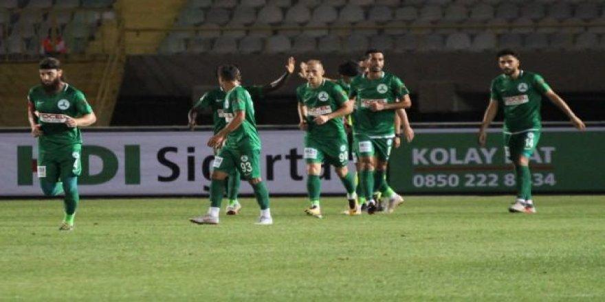 Giresunspor Altay'ı tek golle devirdi