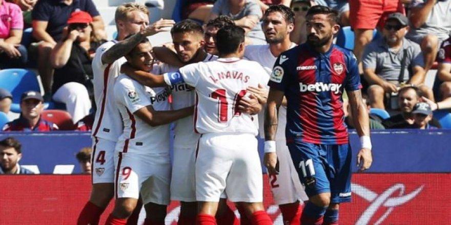 Sevilla'dan yarım düzine gol!
