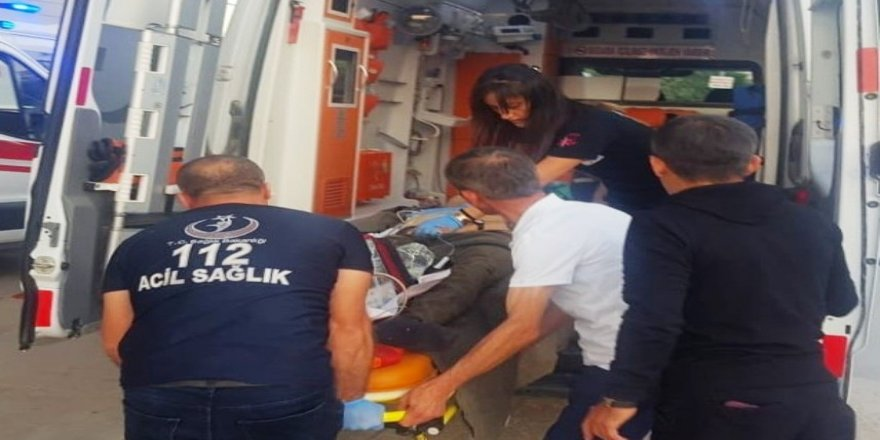 Çatıdan düşen şahıs hastanede hayatını kaybetti