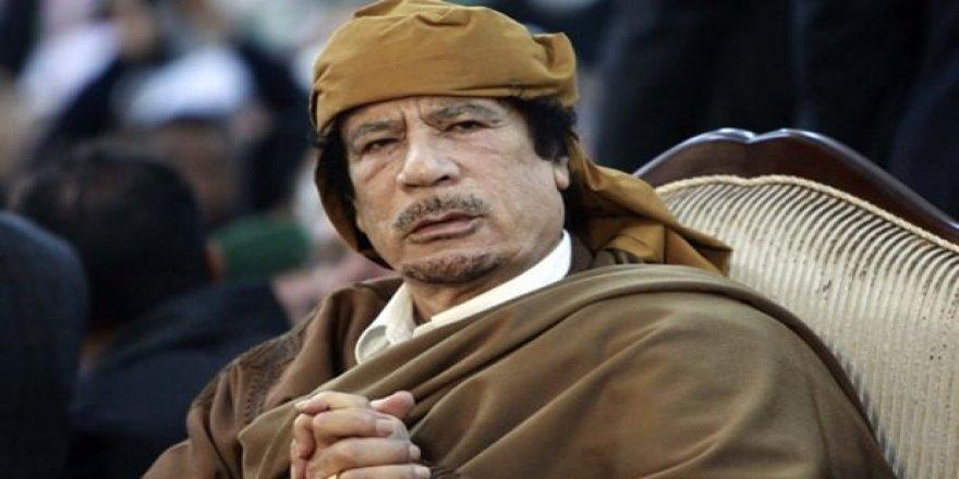 Danışmanı, Kaddafi'nin vasiyetini açıkladı!