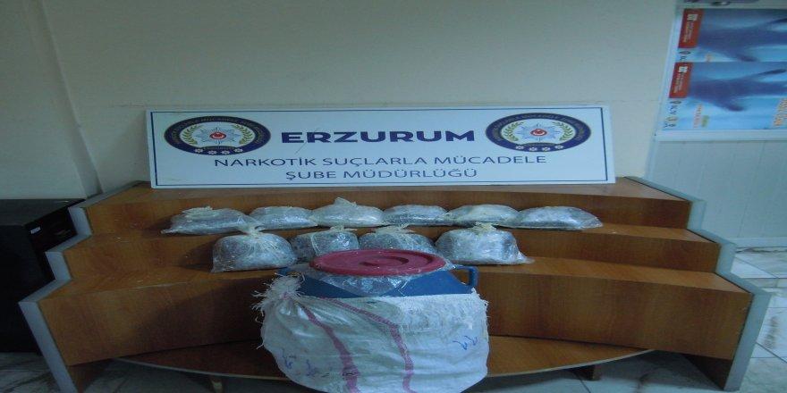 10 kilo 730 gram eroin ele geçirildi