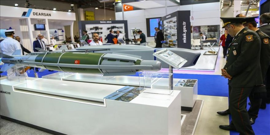 Bakü'de 3. Uluslararası Savunma Sanayisi Fuarı açıldı