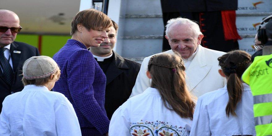Papa Francis Estonya ziyaretinde