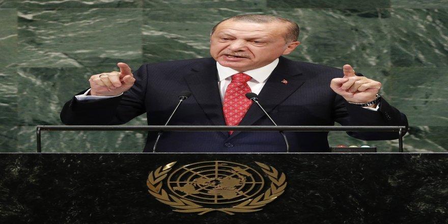 """Cumhurbaşkanı Erdoğan: """"Hedefimiz Suriye topraklarını teröristlerden temizlemek"""""""