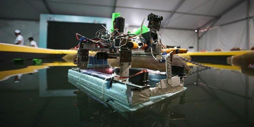 Öğrenciler fetih robotu geliştirdi!