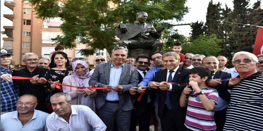 Neşet Ertaş heykeli açıldı