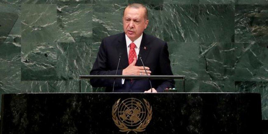 Cumhurbaşkanı Erdoğan'dan BM açıklaması