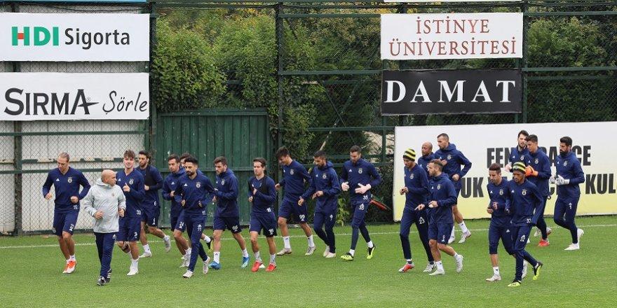 Fenerbahçe'de Rizespor hazırlıkları sürüyor