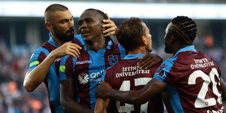Burak ve Rodallega, Süper Lig'de zirveyi hedefliyor
