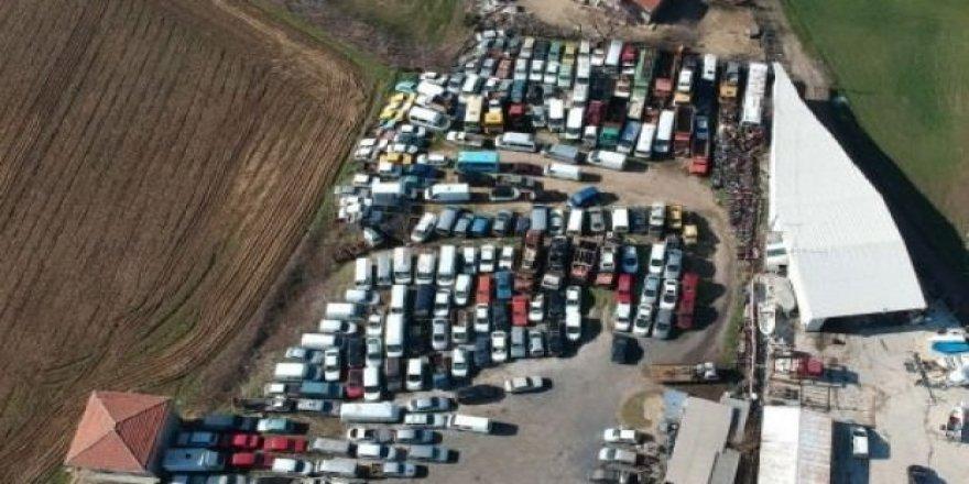 300 bin otomobil çürümeye terk edildi