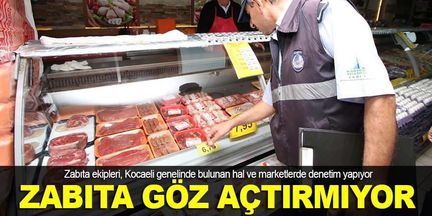 Kocaeli'nde market denetimi