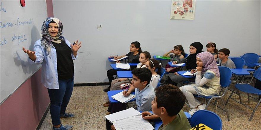 Kerkük'te Türkçe eğitim veren okullara yoğun ilgi