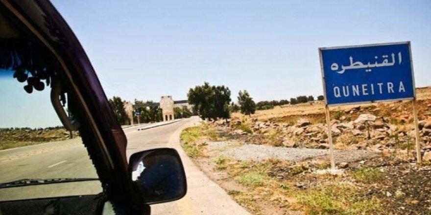 İsrail - Suriye arasındaki Kuneytra sınır kapısı açılıyor