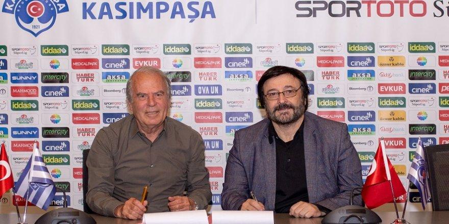 Mustafa Denizli, Kasımpaşa'ya imzayı attı