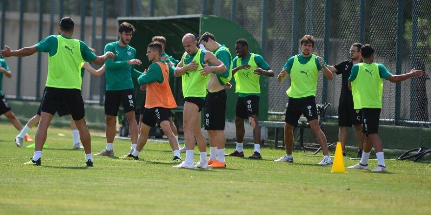 Bursaspor, Ankaragücü maçı hazırlıklarını sürdürdü
