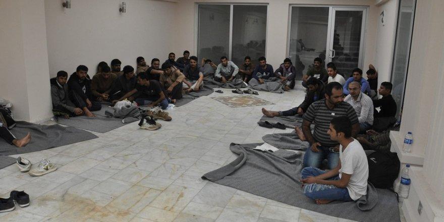117 kaçak göçmen yakalandı