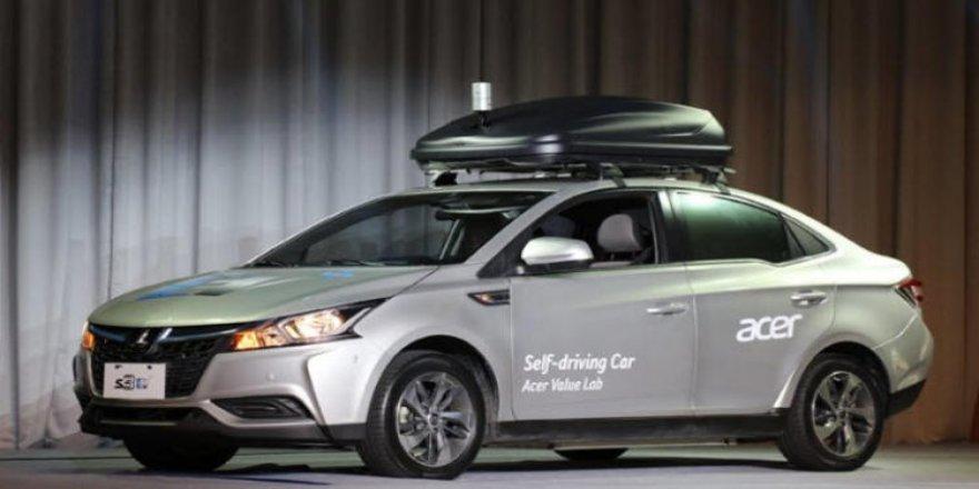 Acer'ın sürücüsüz otomobili sahneye çıktı