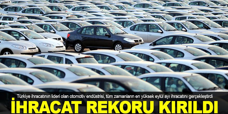 Otomotiv ihracatı rekoru kırdı