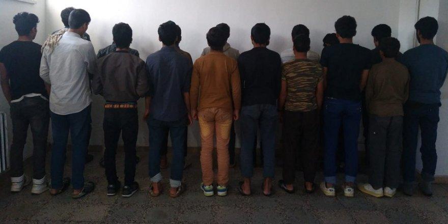 43 göçmen yakalandı
