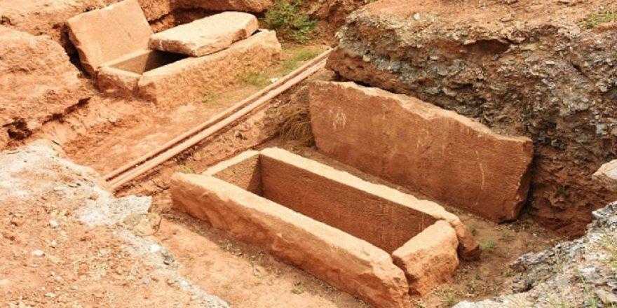 Euromos Antik Kenti'nde Roma ve Helenistik dönem mezarları korumaya alındı