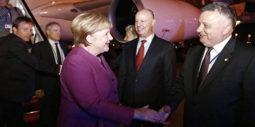 Almanya Başbakanı Merkel, İsrail'de