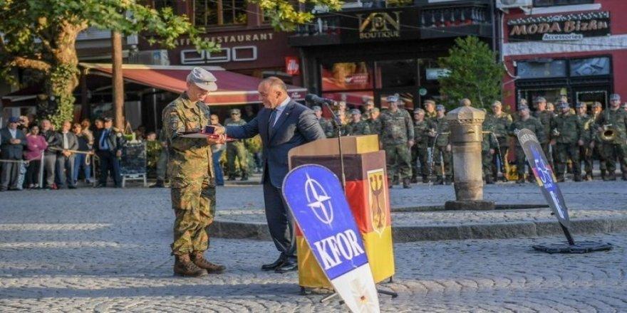 Alman askerleri Kosova'dan ayrılıyor