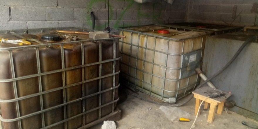 2 bin litre kaçak motorin ele geçirildi