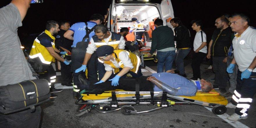 Hatalı sollama ölüm getirdi: 1 ölü, 5 yaralı